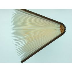 Wooden Led Book Lamp Light Brown