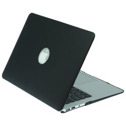 "Mac Book Air 13"" LeatherBlack with Circle"
