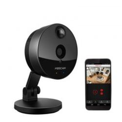 Foscam C1 Indoor HD 720p Wireless Plug and Play IP Camera with Night Vision