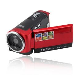 """HD Digital Video Camera With 2.7"""" Display C65 - Red"""