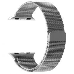 Mesh Bracelet Band For Apple Watch 42mm - Silver