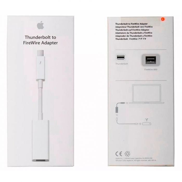 Apple Thunderbolt to FireWire Adapter MD464