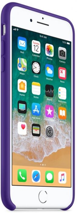 huge selection of ad045 5a44a Apple iPhone 8 Plus / 7 Plus Silicone Case - Ultra Violet, MQH42