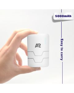A2 Power Bank 5000mAh with Double USB Output