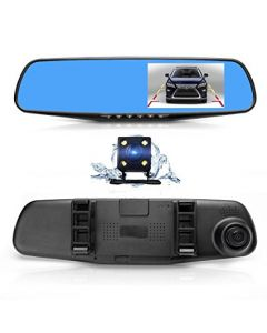 "Car Mirror Camera, 4.3"" Display, Full HD, With Rear Camera"