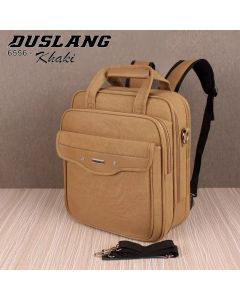 Duslang Shoulder Bag cum Backpack - 6556 - Khaki